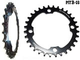 Звезда NARROW WIDE TOOTH MTB-03